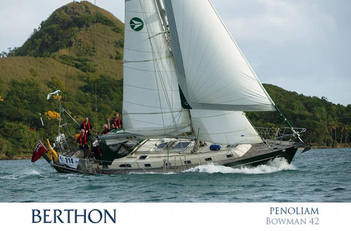 Bowman 42 sold and refitted by Berthon