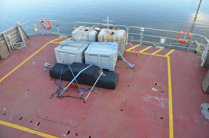 cable bay austel 27m aft work deck