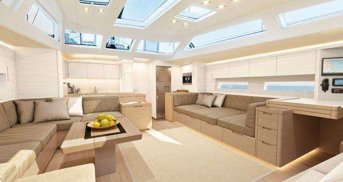 Advanced Yachts A62 Interior Interior