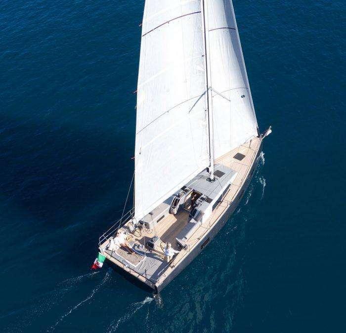 Advanced Yacht A44 Under Sail Exterior