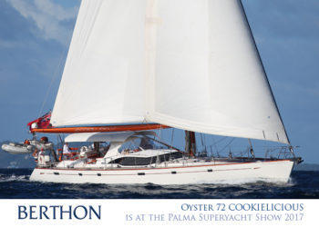 Oyster 72 COOKIELICIOUS is at the Palma Superyacht Show – 28th April – 2nd May 2017