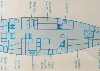 C&C 66 Classic Cruiser / Racer Layout 1