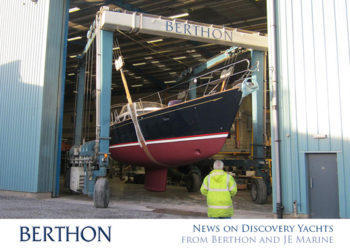 News on Discovery Yachts – from Berthon and JE Marine