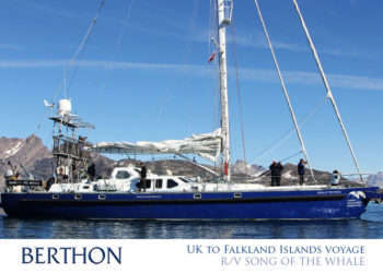 UK to Falkland Islands voyage | R/V SONG OF THE WHALE