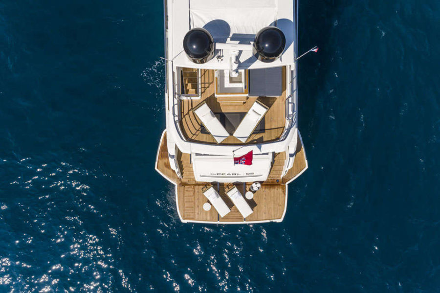 Pearl 95 Deck 3 Deck Layout