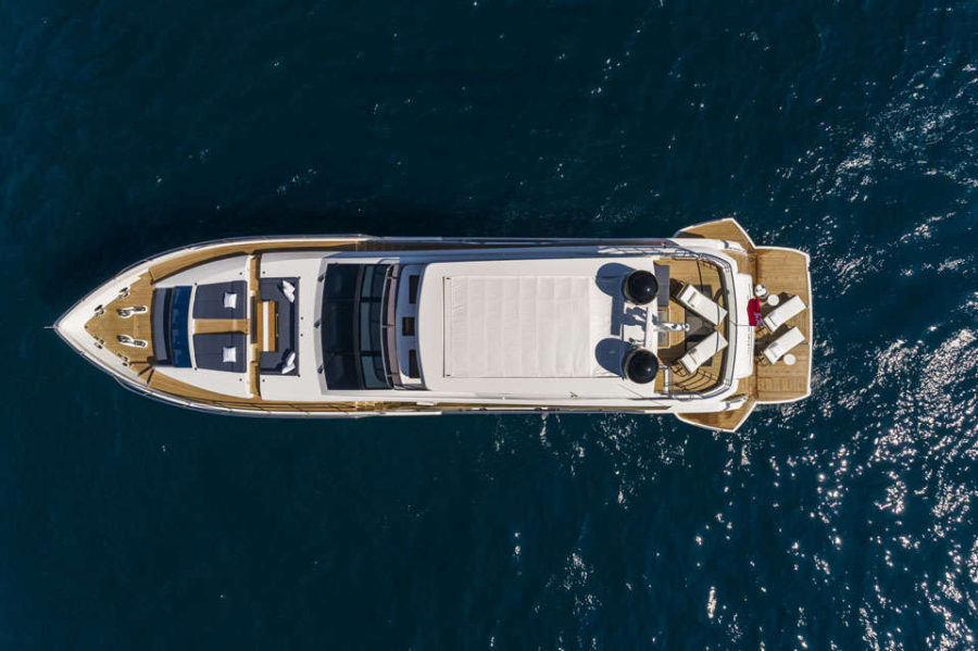 Pearl 95 Deck 4 Deck Layout