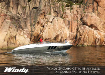 Breaking News! Windy have announced the new 29 Coho GT, due to be displayed at Cannes
