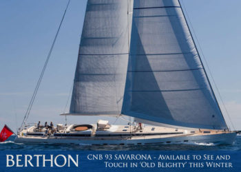 CNB 93 SAVARONA – Available to See and Touch in 'Old Blighty' this Winter
