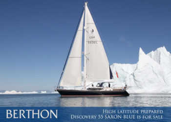 High latitude prepared Discovery 55 SAXON BLUE is for sale