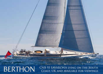 CNB 93 SAVARONA lying on the South Coast, UK and available for viewings