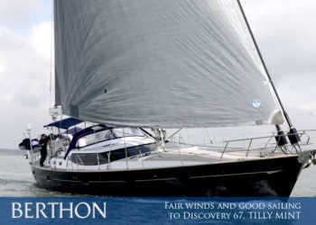 Fair winds and good sailing to Discovery 67, TILLY MINT