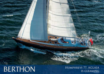 Humphreys 77, AGLAIA is gleaming and available to see, touch and write a cheque for in Palma.