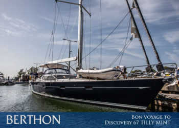 Bon voyage to Discovery 67 TILLY MINT