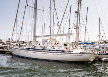 German Frers 60, NAMAQUA, Southampton Yacht Services, German Frers 60