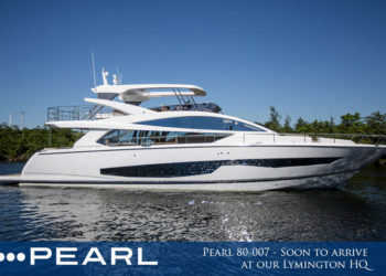 Pearl 80-007 – Soon to arrive at our Lymington HQ