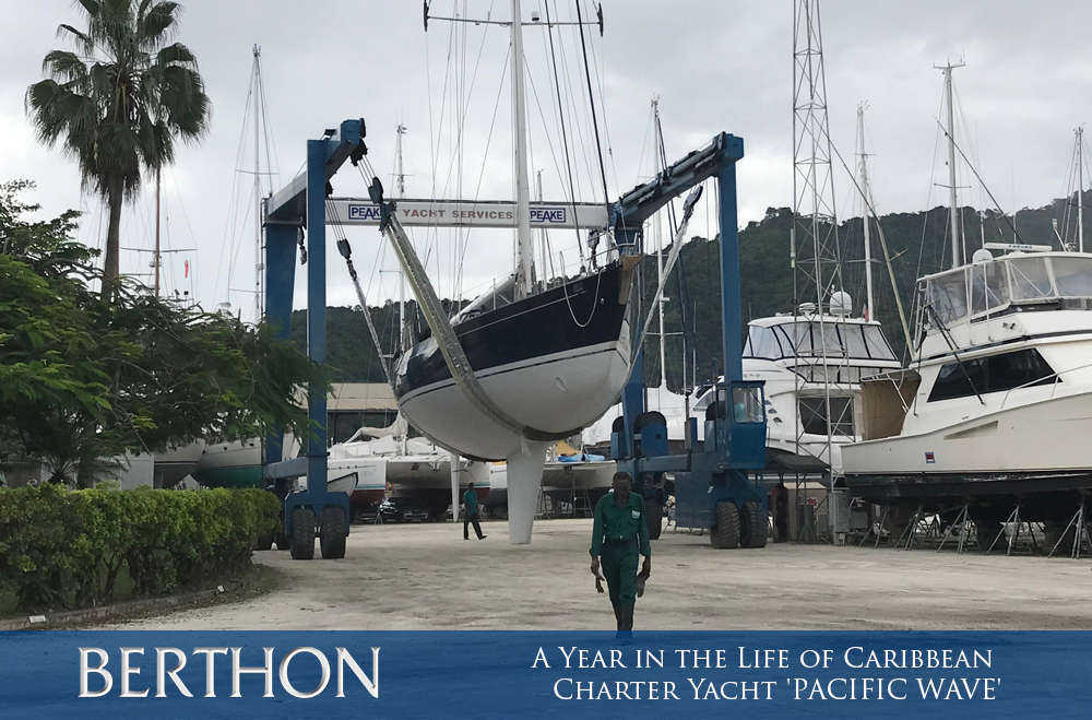 a-year-in-the-life-of-caribbean-charter-yacht-pacific-wave-3-relaunch-peakes-trinidad