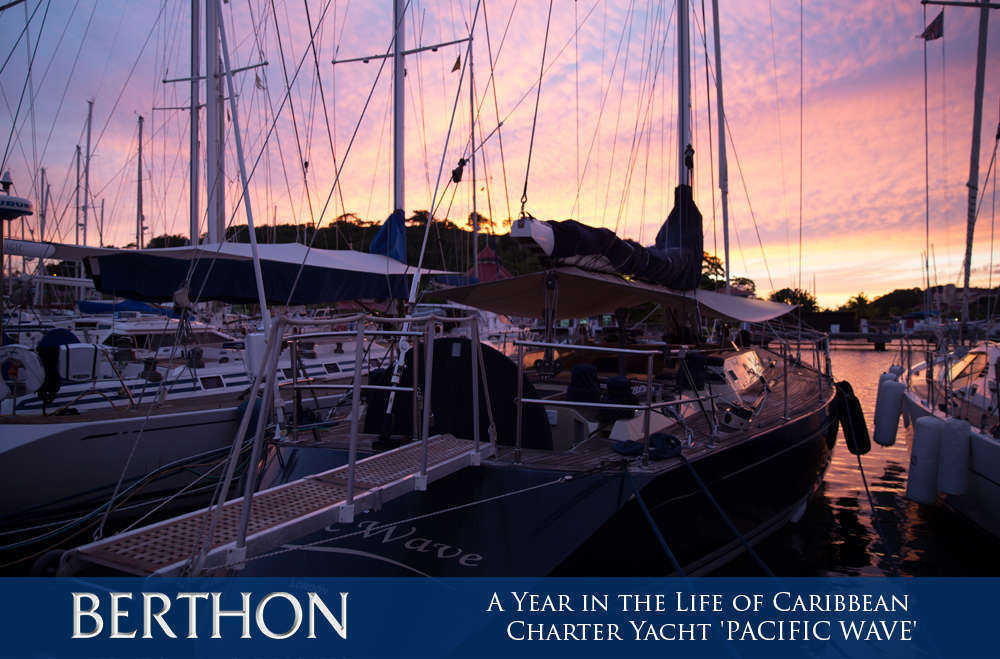 a-year-in-the-life-of-caribbean-charter-yacht-pacific-wave-6-port-louis-marina-grenada