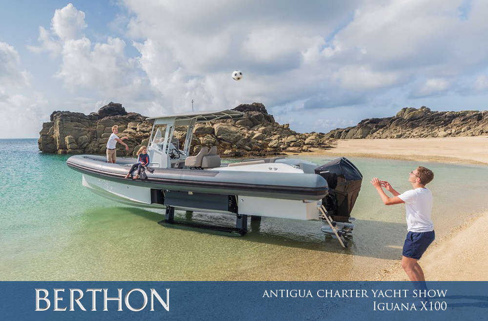 IGUANA YACHTS AT THE ANTIGUA CHARTER YACHT SHOW – 4th to 9TH DECEMBER