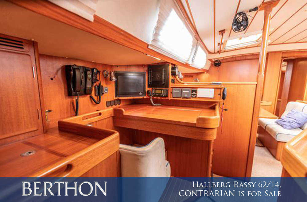 Hallberg Rassy 62/14, CONTRARIAN is for Sale