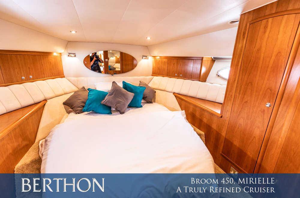 Broom 450, MIRIELLE –– A Truly Refined Cruiser