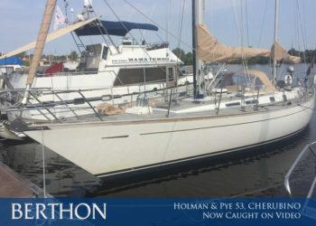 Holman & Pye 53, CHERUBINO now caught on video