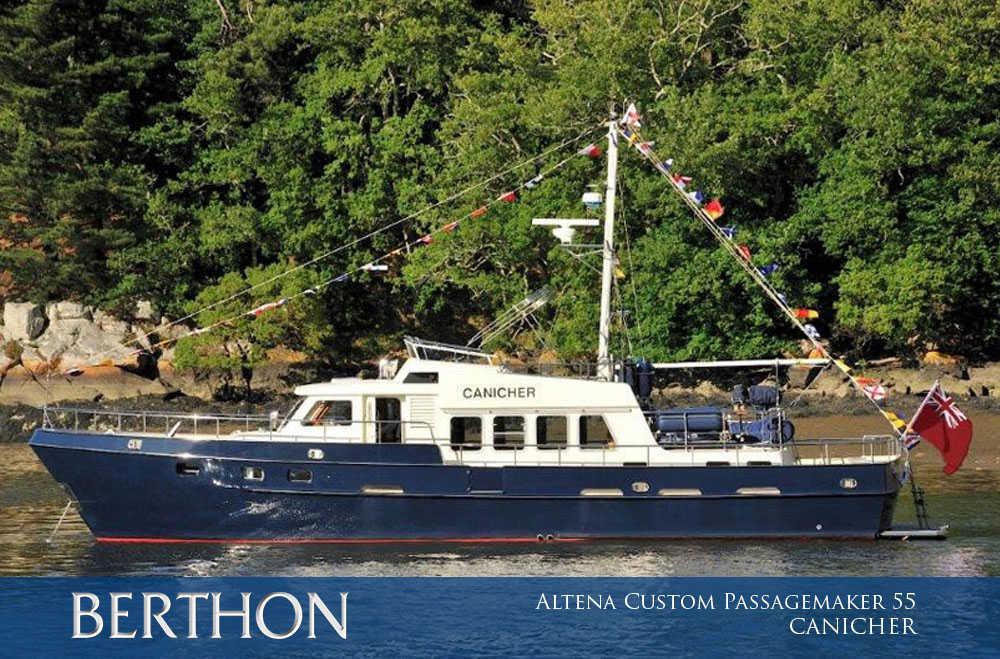 Altena Custom Passagemaker 55, CANICHER has Grown 1 Main