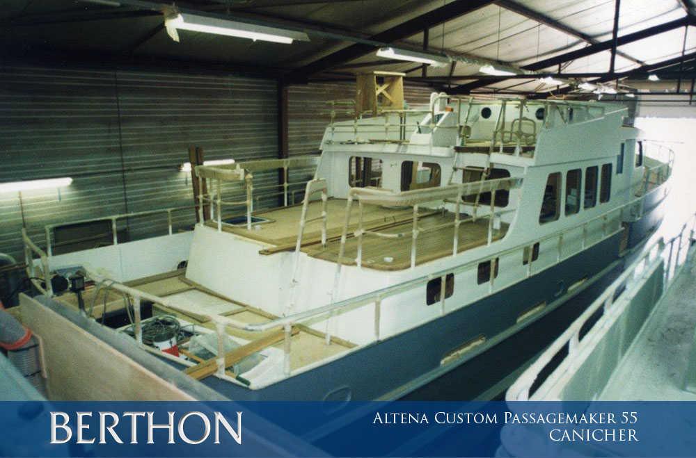 Altena Custom Passagemaker 55, CANICHER has Grown 2