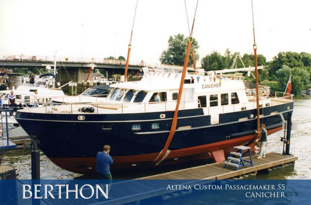 Altena Custom Passagemaker 55, CANICHER has Grown 8