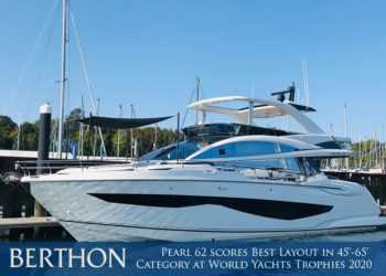 Pearl 62 scores Best Layout in 45'-65' Category at World Yachts Trophies 2020