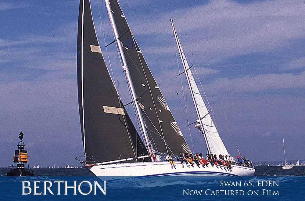 Swan 65, EDEN now captured on film
