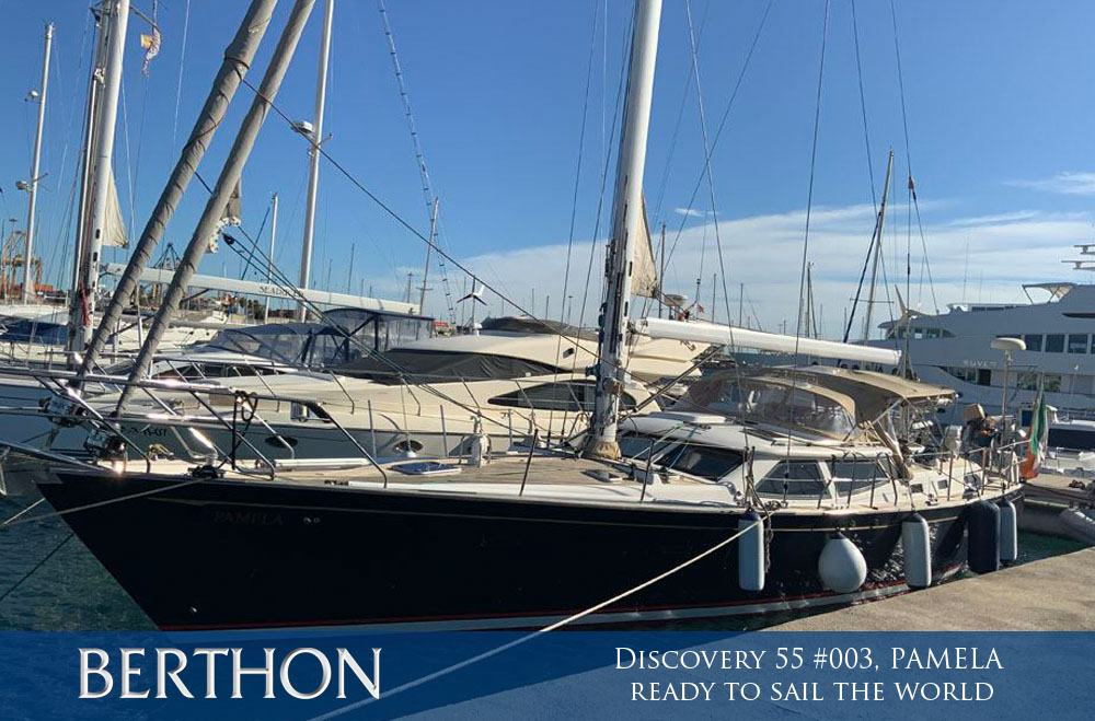 Discovery 55 #003 PAMELA – ready to sail the world