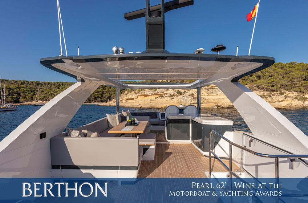 Pearl 62 Winner at the Motorboat and Yacht Awards