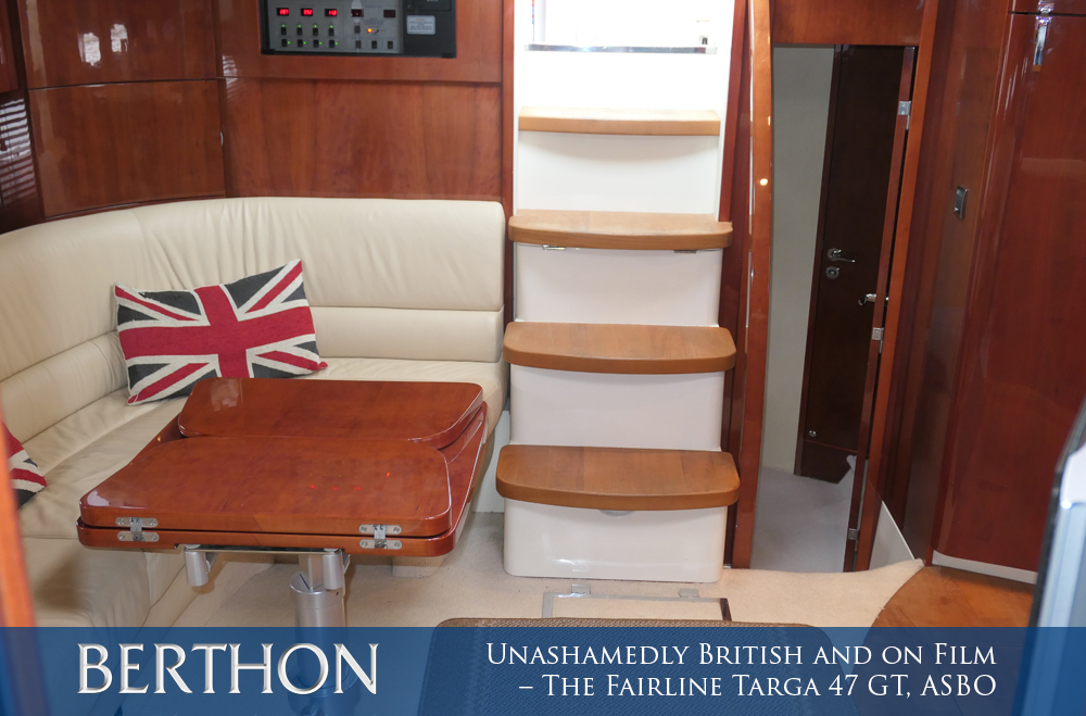 Unashamedly British and on Film – The Fairline Targa 47 GT, ASBO