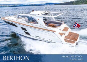 Marex 360 Cabriolet Cruiser, ITACA is for sale…