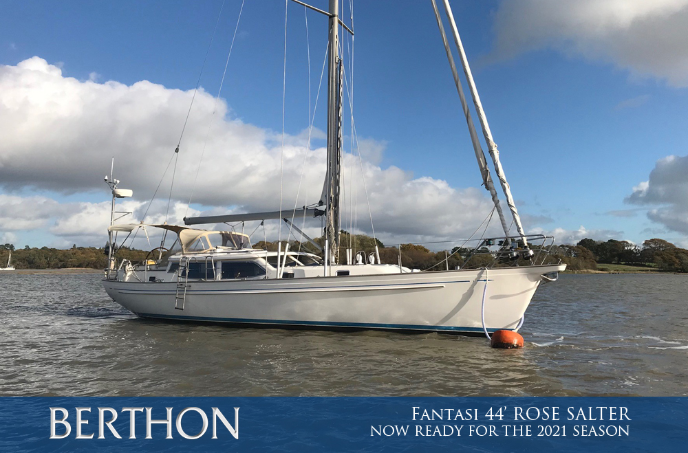 Fantasi 44' ROSE SALTER – now plug and play for the 2021 season