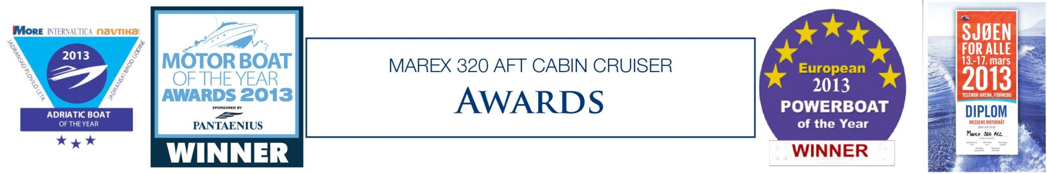 marex-320-aft-cabin-cruiser-awards