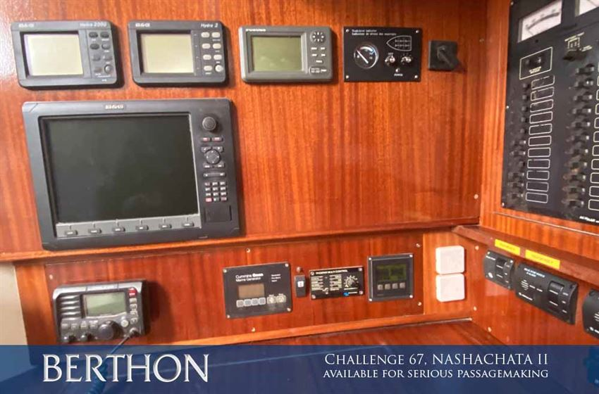 Challenge 67, NASHACHATA II is now available for serious passagemaking