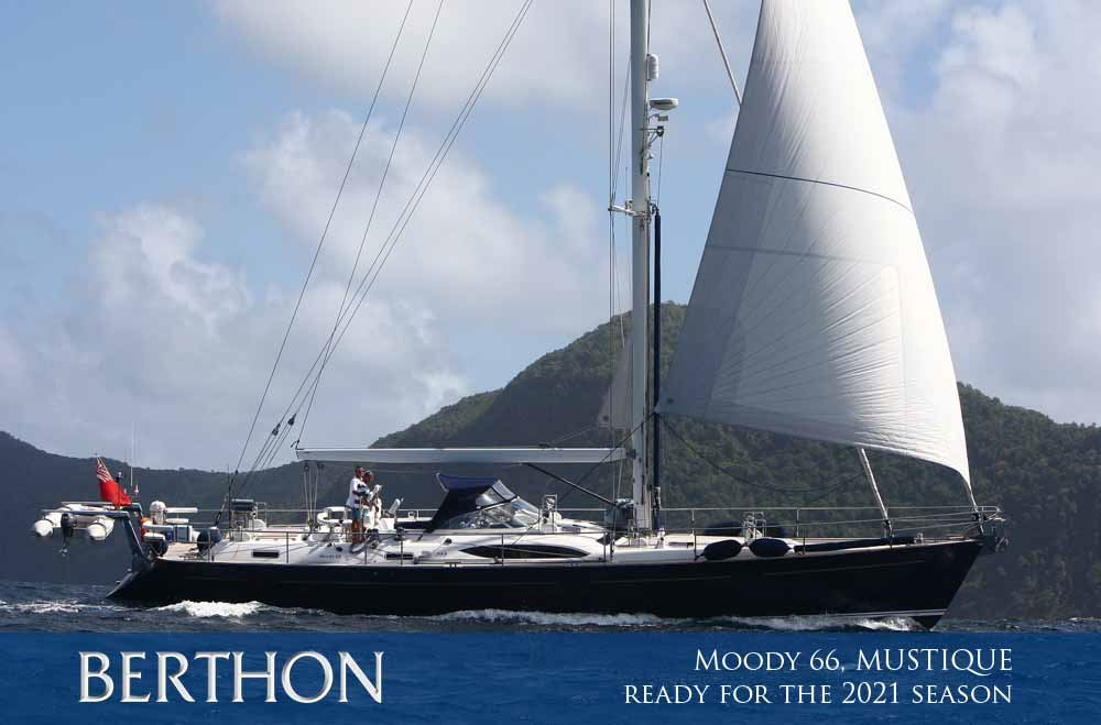 Moody 66, MUSTIQUE totally ready for the 2021 season
