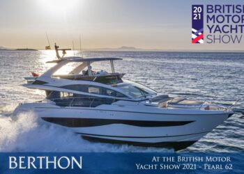 Pearl Yachts and Berthon International at the British Motor Yacht Show 2021