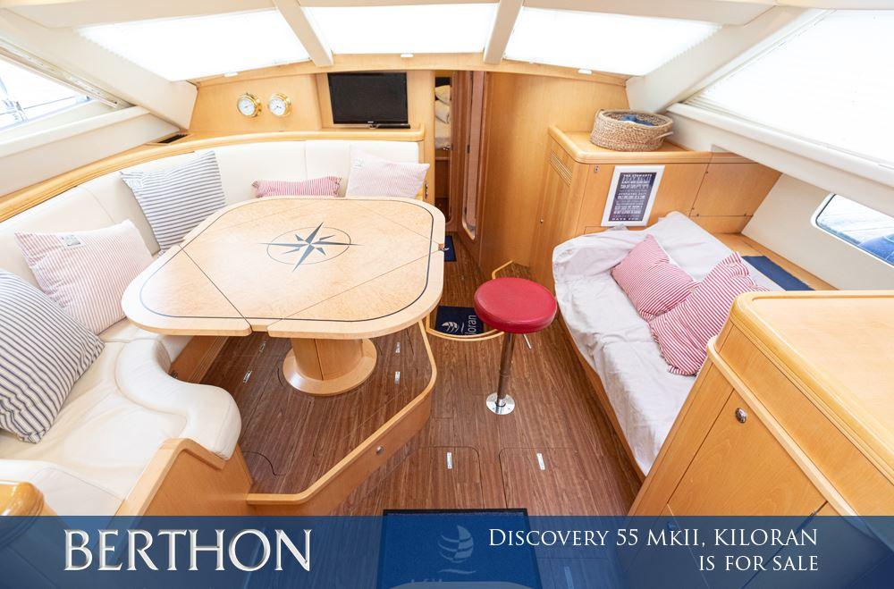Discovery 55 Mk II, KILORAN is for sale