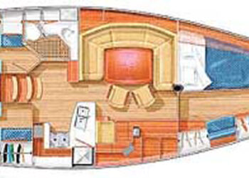 Sweden Yachts 45 Layout 1