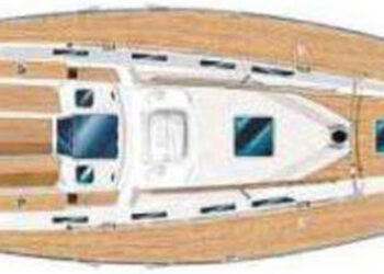 Sweden Yachts 45 Layout 2