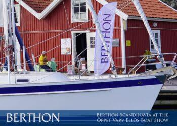 Berthon Scandinavia will be at the Öppet Varv Ellös Boat Show 2021– 27th to 30th August