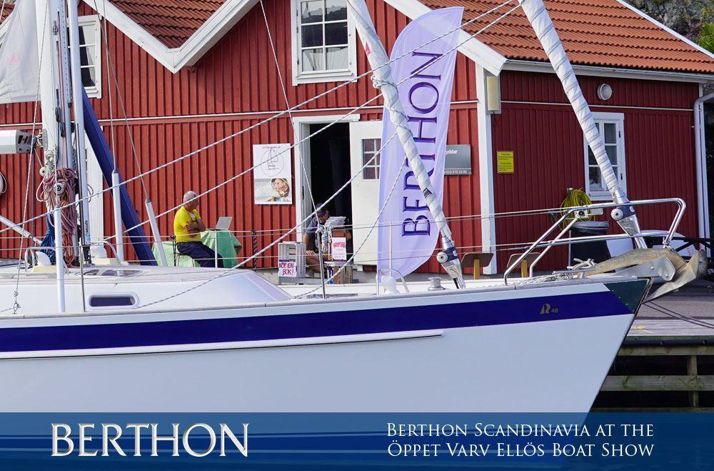 Berthon Scandinavia will be at the Öppet Varv Ellös Boat Show 2021
