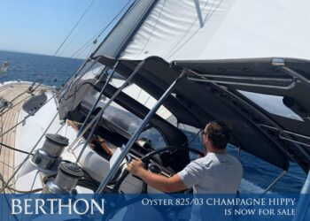 Oyster 825/03 CHAMPAGNE HIPPY is now for sale