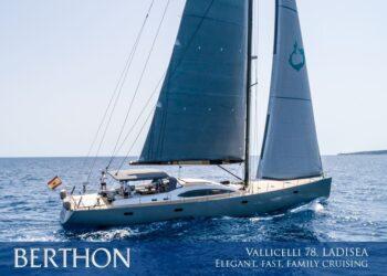 Elegant, fast family bluewater cruising from the astonishing Vallicelli 78 LADISEA