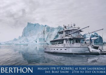 Mighty FPB 97 ICEBERG at Fort Lauderdale International Boat Show – 27th to 31st October